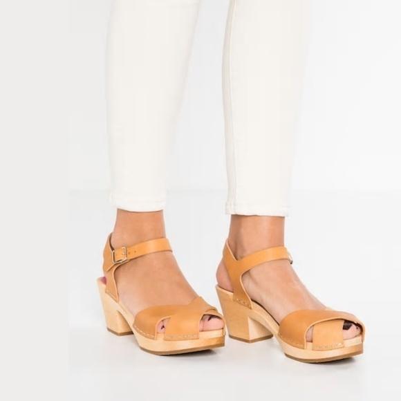 Swedish Hasbeens Mirja Clog Sandals